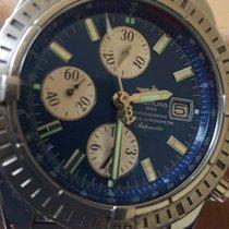 Breitling Chronomat Evolution 795020 Steel Blue Dial 44mm