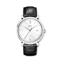 IWC IW356514 Portofino Boutique Mens 40mm Automatic in White...