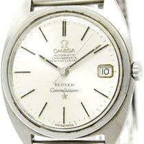 Omega Vintage Omega Constellation Turler Stainless Steel...