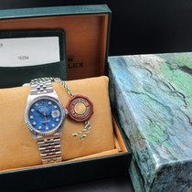勞力士 (Rolex) DATEJUST 16234 SS Original Sodalite Diamond Box...