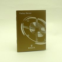 Rolex Factory Service Booklet 2012 English