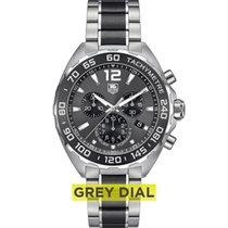 """TAG Heuer FORMULA 1  Chronograph  Anthracite with """"sunray""""..."""