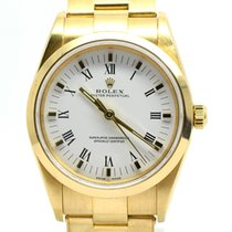 Rolex Lady Oyster Perpetual  6619 18k Gold, With Box