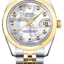 Rolex Datejust 31mm Stainless Steel and Yellow Gold 178243...
