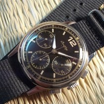 Breitling WW2 military aviation chronograph ref. 734 cal....