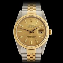 Rolex Datejust Stainless Steel & 18k Yellow Gold Unisex...