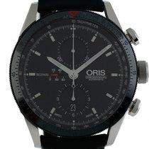 Oris Artix GT Stahl Automatik Chronograph Armband Leder 44mm...