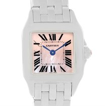 Cartier Santos Demoiselle Mother Of Pearl Dial Ladies Watch...