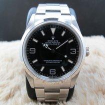 Rolex 2005 ROLEX EXPLORER 1 114270 BLACK DIAL