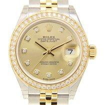 勞力士 (Rolex) Lady Datejust Gold Steel Diamond Gold Automatic...