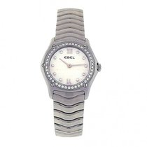 Ebel Ladies Stainless Steel Ebel Classic Wave Diamond Mother...