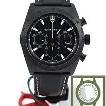 Τούντορ (Tudor) Fastrider Black Shield black case white NEW