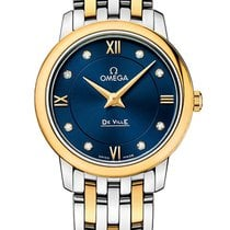 Omega 42420276053002 De Ville Prestige Quartz Ladies Watch