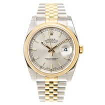 勞力士 (Rolex) Datejust Gold And Steel Silver Automatic 116203SV_J
