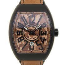 Franck Muller New  Vanguard Titanium Brown Automatic V45SCDTCA...