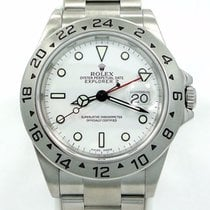 롤렉스 (Rolex) Explorer II 16570 Gmt Date White Dial Men's...
