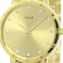 Piaget Polished Piaget Dancer Diamond 18k Solid Gold Mens...