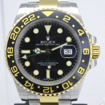 Rolex GMT Master II Steel and Gold Ceramic Bezel 116713LN