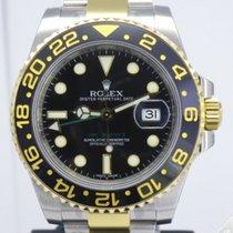 Ρολεξ (Rolex) GMT Master II Steel and Gold Ceramic Bezel 116713LN