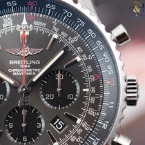 Breitling Navitimer 01 46mm Stratos Gray Limited Steel on...