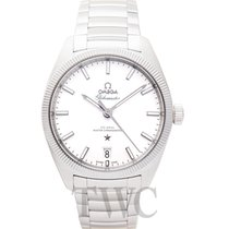 Omega Constellation Globemaster Silver Steel 39mm - 130.30.39....