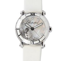 Chopard Happy Sport Stainless Steel White Quartz 288524-3004