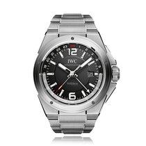 IWC Schaffhausen Ingenieur Dual Time Automatic Mens Watch...