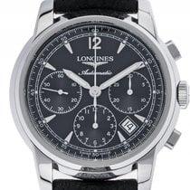 Longines Saint-Imier Edelstahl Automatik Chronograph Armband...