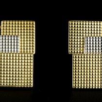 Piaget 18k Yellow Gold & 18k White Gold Embossed Grid...