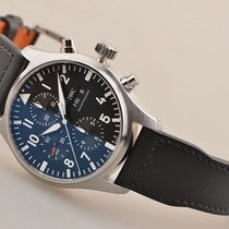 IWC 【SOLD】Classic Pilot's Automatic Chronograph Mens Watch