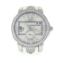 Ulysse Nardin Executive Dual Time Lady Watch Steel and...