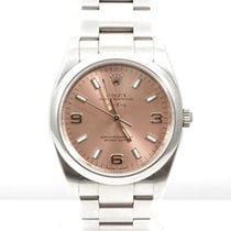 "Rolex SS ""New Style"" Air-King w/  Salmon Arabic Dial -..."