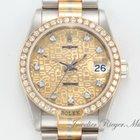 Rolex Datejust Medium Tridor Weissgold Rotgold Gold 750 Date Just