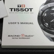 Tissot kit complete racing  t-touck warranty paper and booklet