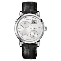 A. Lange & Söhne 18k White Gold Leather
