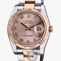 Ρολεξ (Rolex) Datejust 36 mm Stainless Stell and Rose Gold