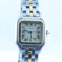 Cartier Panthere Quartz Damen Uhr 28mm Stahl/18k Gold Guter...
