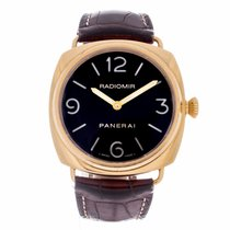 Panerai Historic Collection Radiomir 18K Rose Gold Watch...