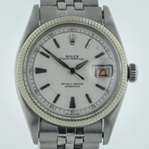 Rolex Datejust 6305, Guilloche Dial, Bubble Back, Mens,...