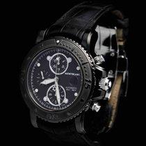 Montblanc Sport Chronograph DLC Full Set Brilliant Condition