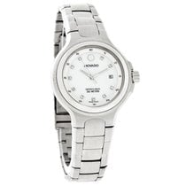 Movado Series 800 Ladies Diamond Mop Dial Quartz Watch 2600033