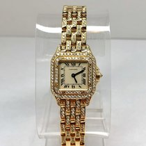 Cartier Panthére 18K Solid Yellow Gold Luxury Ladies Watch...