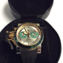 Graham Chronofighter Oversize Steel and 18K Gold