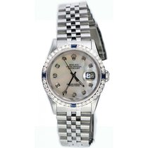 Rolex Datejust Men's 16200 Stainless Steel Jubilee Band...