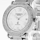 Charriol Columbus Stahl mit Diamantbesatz Ref.CCRA38