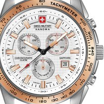 Swiss Military Hanowa 06-4225.04.001.09 Crusader Chrono 43mm...
