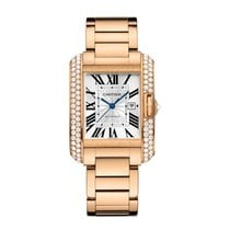 Cartier Tank Francaise Automatic Mens Watch Ref WT100003