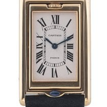 Καρτιέρ (Cartier) Tank Reversible Basculante Yellow Gold