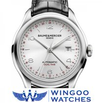 Baume & Mercier Clifton Dual Time Watch Ref. M0A10112/MOA1...