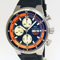 IWC Aquatimer Chronograph Cousteau Divers Blue/Orange Limited...